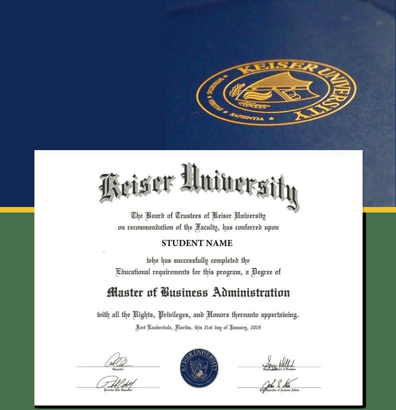 美国凯泽大学工商管理硕士学位班